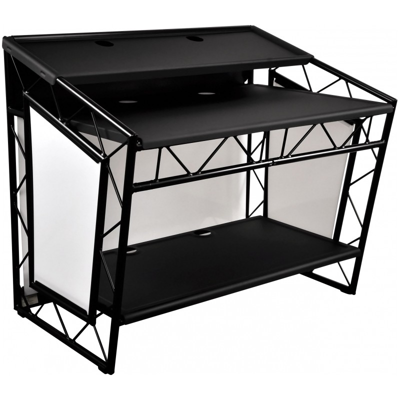 dj pult tisch dj pult aus paletten tresen tisch palettery palettery de dj pult aus traversen. Black Bedroom Furniture Sets. Home Design Ideas