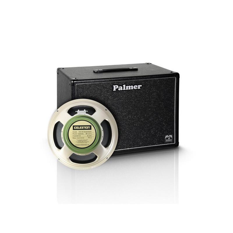 "Palmer MI CAB 112 GBK Gitarrenbox 1 x 12/"" mit Celestion G 12 M Greenback 8 Ohm"