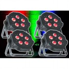 4x ADJ Mega TRIPAR Profile PLUS LED PAR Lichteffekt Bundle