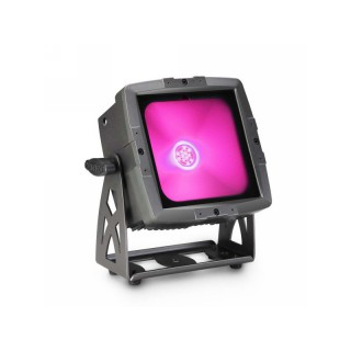 Cameo FLAT PRO FLOOD IP65 TRI - Outdoor Fluter mit 60W Tri-Color COB-LED schwarz