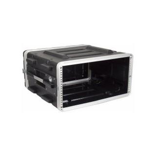 DAP-Audio RCA- DD4ABS DoubleDoor 4U ABS Case