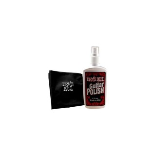ERNIE BALL Guitar Polish inkl. Tuch