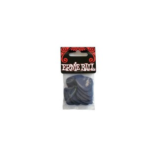 ERNIE BALL Nylon Picks 12 Stück, Medium (0,72 mm)