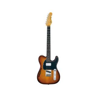 G&L Tribute Asat Classic Bluesboy Semi Hollow TS E-Gitarre