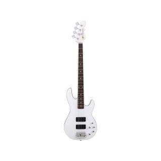 G&L Tribute M-2000 GTB Carved Top White E-Bass