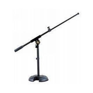 HERCULES Mikrofonständer niedrig, kurzer Galgen