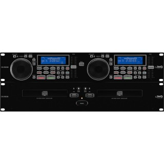 IMG STAGELINE CD-292USB Dual-CD- & MP3-Player