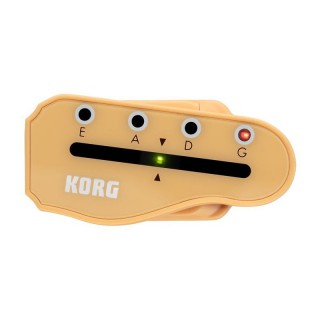KORG Headtune Clip-On Tuner für Bass in Kopfplattenform