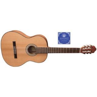 Miguel J. Almeria 10-C Premium 4/4 Größe Konzertgitarre, massive Zeder