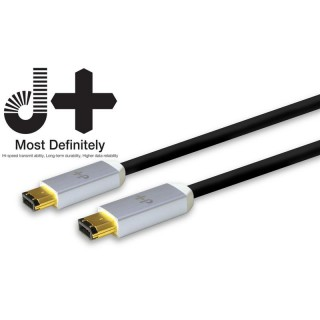 NEO by Oyaide d+ Firewire 6pin-6pin Kabel 4m