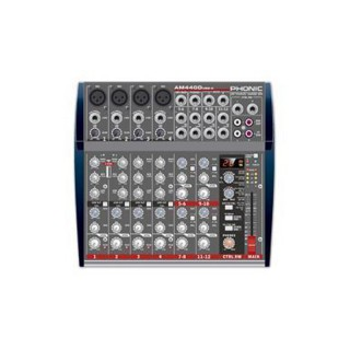PHONIC Rackmixer AM 440 D USB-K1