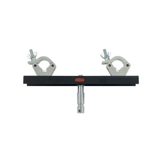 Showtec Doughty Standmount for 50 mm Tube Adjustable 200 - 400 mm 70324