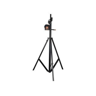 Showtec Wind-Up Lightstativ 4m, max. belastbar 50kg