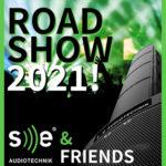 SE Audiotechnik Roadshow 2021 – bei imm-professional.de