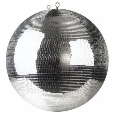 Showtec Professional Spiegelkugel 30cm mit 5 x 5mm Glasfacetten