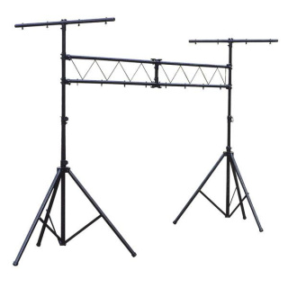 Showtec Two Stand mit Truss und Two Extra T-Bars 3 m