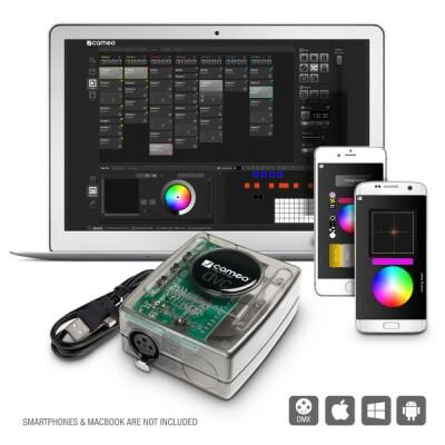 Cameo DVC 512-Kanal USB zu DMX-Interface und Steuersoftware