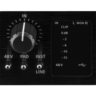 IMG Stageline MX-1IO 1-Kanal-USB-Recording-Interface