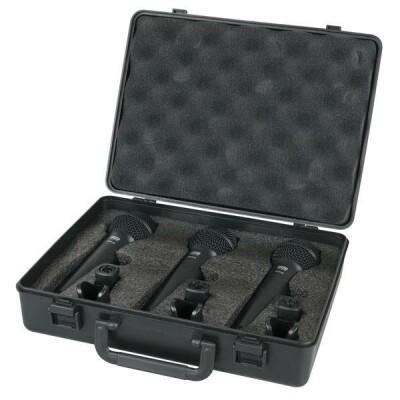 DAP-Audio PDM-Pack Vocal Pack mit 3 dynamischen Mikrofonen