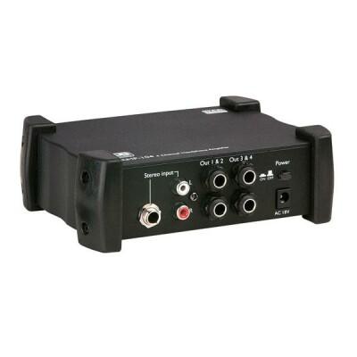 DAP-Audio AMP-104 4-Kanal Kopfhörerverstärker