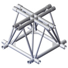 Showtec Cross 4-Way For foldable triangle truss FT50016