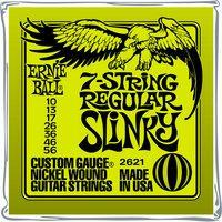 ERNIE BALL Slinky Nickel Wound 7-Saiter E-Gitarren Saiten Satz 10-56