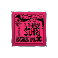 ERNIE BALL Slinky Nickel Wound 7-Saiter E-Gitarren Saiten Satz 9-52