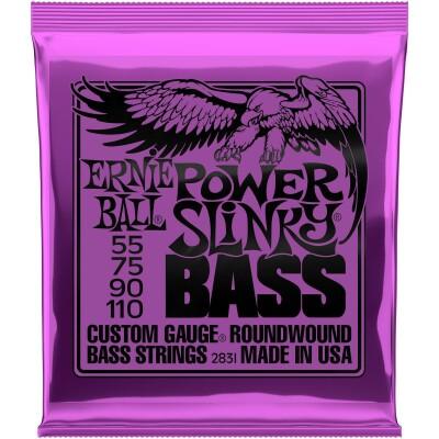 ERNIE BALL Slinky Bass E-Bass Saiten Satz 55-110