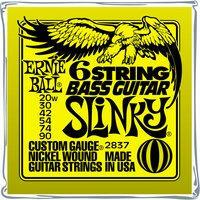 ERNIE BALL Slinky Bariton 6er E-Bass Saiten Satz