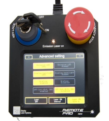 Kontroll-Touch-Pad für RTI FEMTO Serie