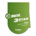 Adam Hall Cables 3 Star Serie - MIDI Kabel 1,5 m blau