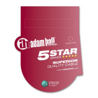 Adam Hall Cables 5 Star Serie - Instrumentenkabel Neutrik...