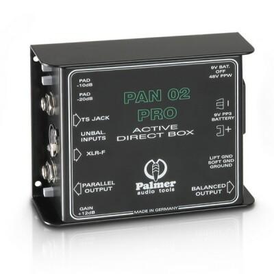 Palmer Pro PAN02PRO - DI-Box aktiv