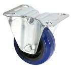 Adam Hall Hardware 372071 - Bockrolle 80 mm mit blauem Rad