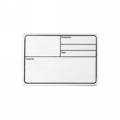 Adam Hall Hardware Tour Label - Beschriftungsschild Kunststoff weiß magnetisch 177x127 mm