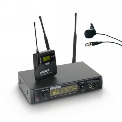 LD Systems WIN 42 BPL B 5 - Funkmikrofon System mit Belt Pack und Lavalier Mikrofon