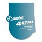 Adam Hall Cables K 4 DGH 0050 IP 65 DMX- & AES/EBU-Kabel - 5-Pol-XLR(m) auf XLR(f), IP65 0,5 m