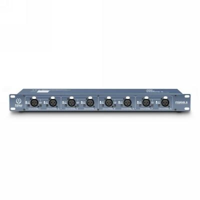 Palmer Pro RMMS 8 8-Kanal Mikrofon-Splitter