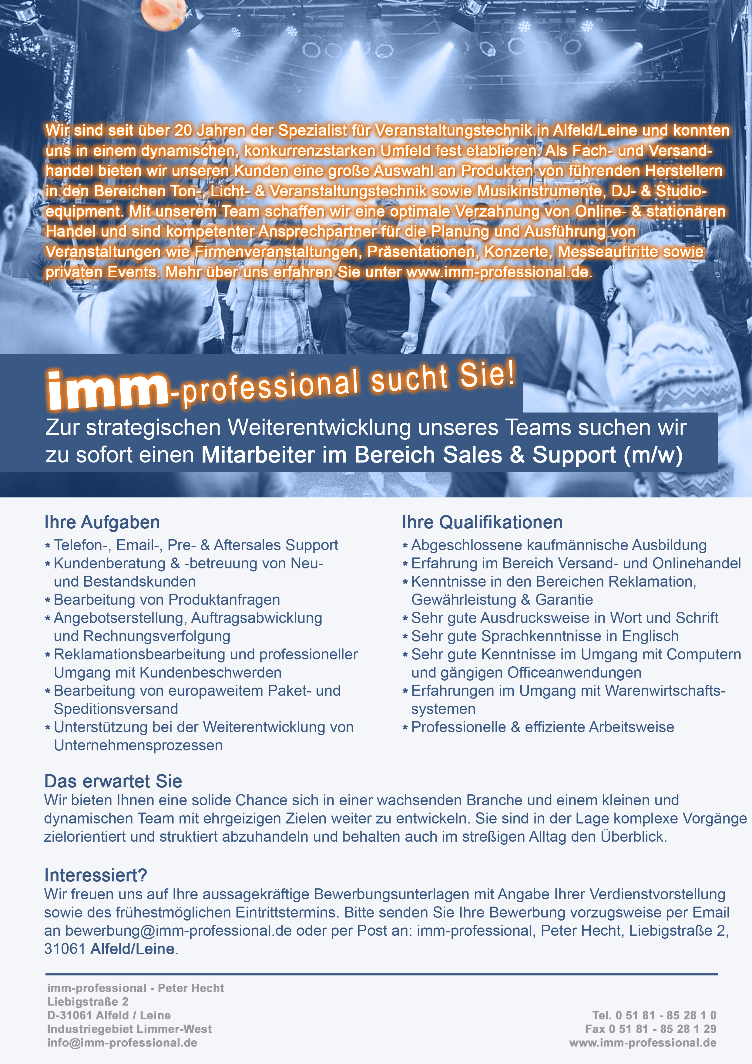 Jobs Bei Imm Professional